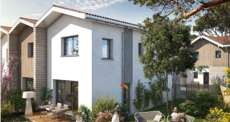 Achat / Vente immobilier neuf Lacanau à 300m de la plage sud (33680) - Réf. 6298