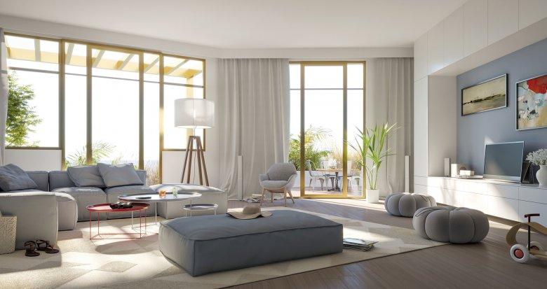 Achat / Vente immobilier neuf Lacanau Océan, à deux pas de la Plage (33680) - Réf. 5221