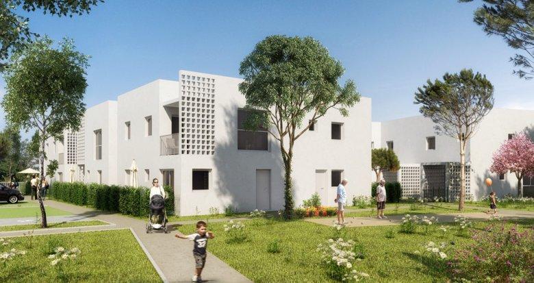 Achat / Vente immobilier neuf Landegrand proche hyper marché (33290) - Réf. 2179
