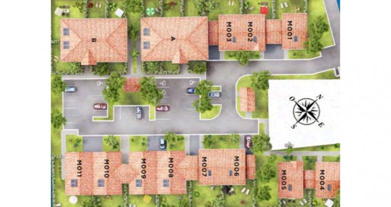Achat / Vente immobilier neuf Lanton en bordure de la piste cyclable (33138) - Réf. 536