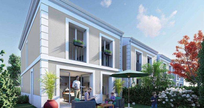 Achat / Vente immobilier neuf Le Bouscat proche du parc de la Chêneraie (33110) - Réf. 6282