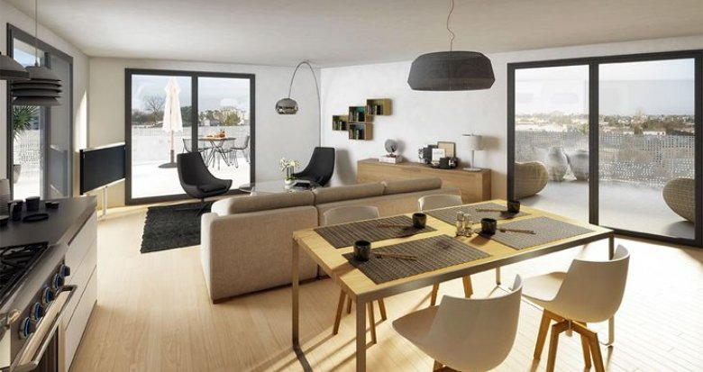 Achat / Vente immobilier neuf Le Bouscat proche Mairie (33110) - Réf. 2369