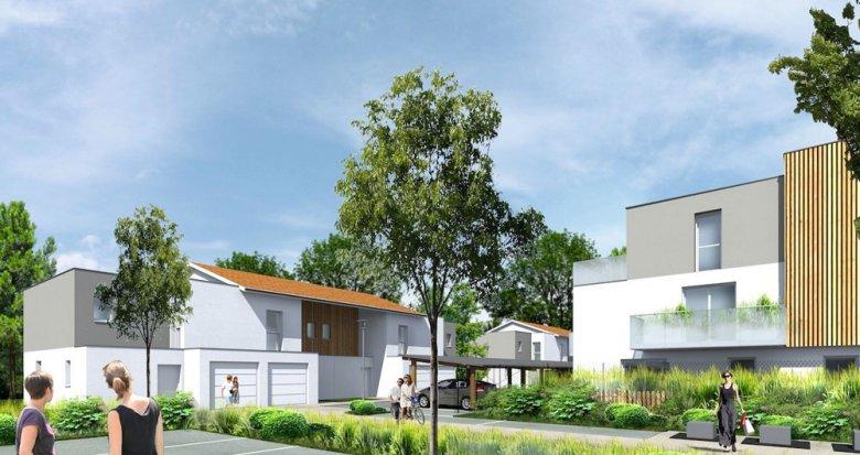 Achat / Vente immobilier neuf Le Taillan Medoc proche des transports (33320) - Réf. 234