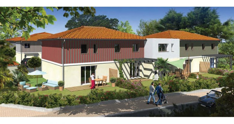 Achat / Vente immobilier neuf Le Teich proche de la gare (33470) - Réf. 980