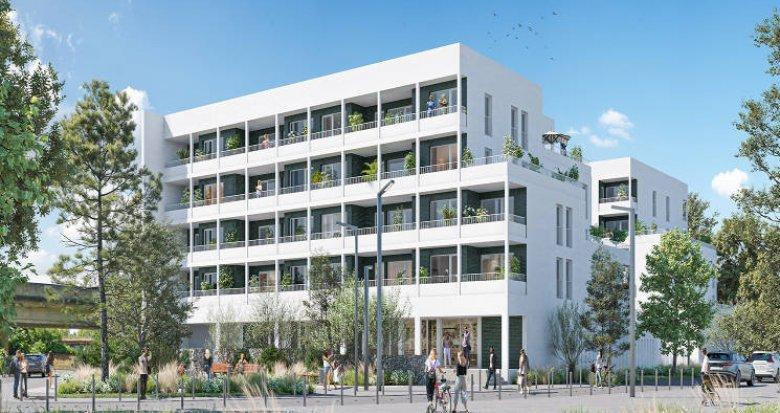 Achat / Vente immobilier neuf Lormont au pied du parc de l'Ermitage (33310) - Réf. 5695