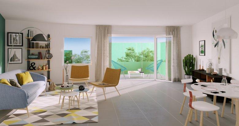 Achat / Vente immobilier neuf Lormont écoquartier (33310) - Réf. 3404