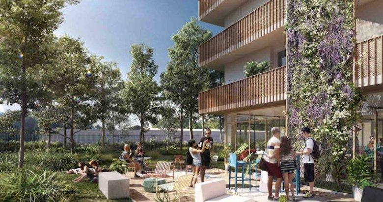 Achat / Vente immobilier neuf Lormont résidence étudiante quartier de la Ramade (33310) - Réf. 3831