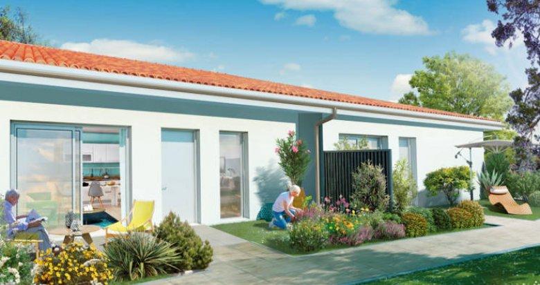 Achat / Vente immobilier neuf Martillac à 7min du centre (33650) - Réf. 4543