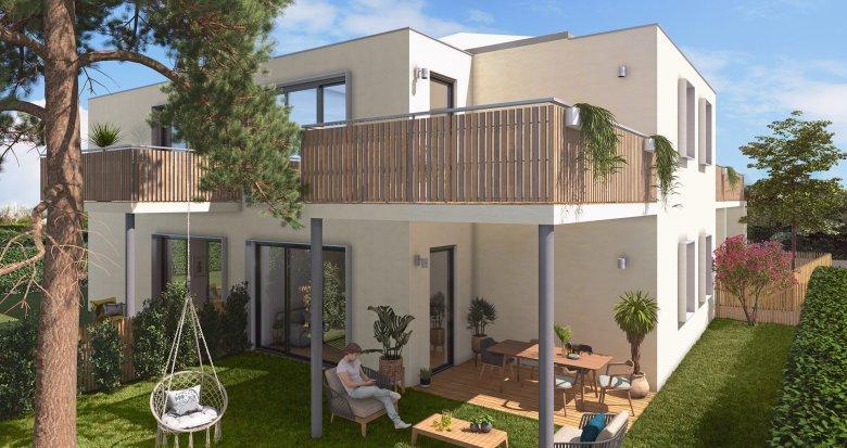 Achat / Vente immobilier neuf Mérignac, à 350m station Tram Hôtel de Ville (33700) - Réf. 5225