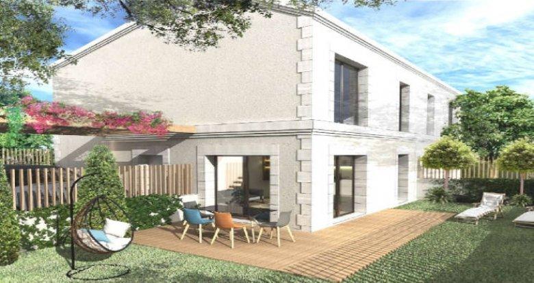 Achat / Vente immobilier neuf Mérignac proche du Bois du Burck (33700) - Réf. 6002
