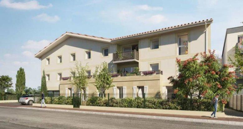 Achat / Vente immobilier neuf Parempuyre à 800 mètres du bus (33290) - Réf. 4724