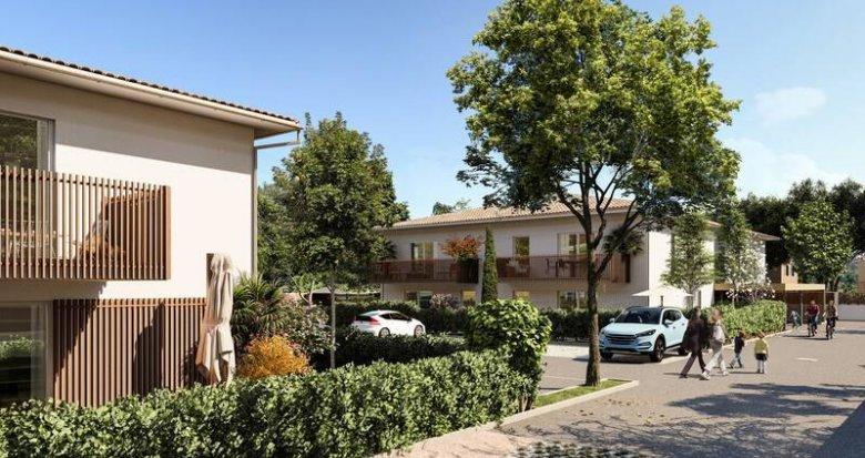 Achat / Vente immobilier neuf Parempuyre à proximité du centre ville (33290) - Réf. 6281