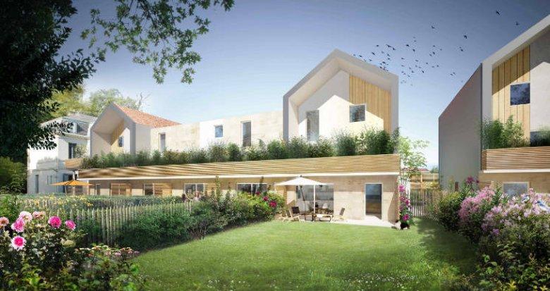 Achat / Vente immobilier neuf Pessac à 600m de la place du Marché (33600) - Réf. 5702