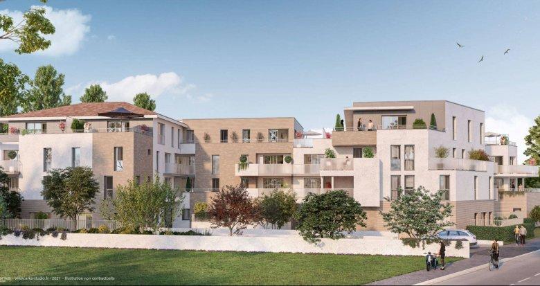 Achat / Vente immobilier neuf Pessac à proximité du Parc Cazalet (33600) - Réf. 6218