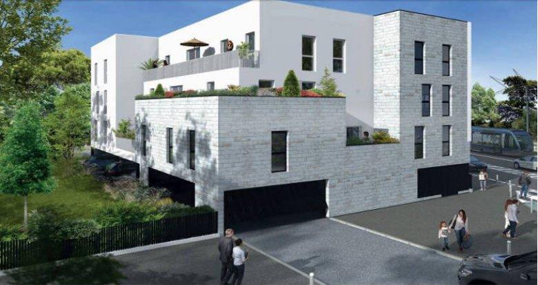 Achat / Vente immobilier neuf Pessac au cœur du quartier des Alouettes (33600) - Réf. 3603