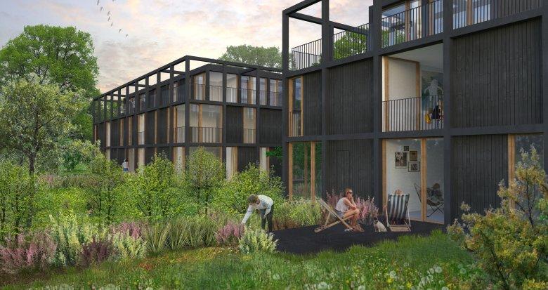 Achat / Vente immobilier neuf Pessac proche Bordeaux (33600) - Réf. 562