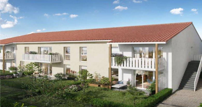 Achat / Vente immobilier neuf Saint-Loubès à 5 min du centre (33450) - Réf. 4941