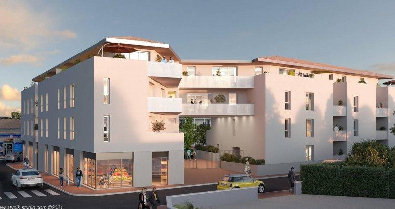 Achat / Vente immobilier neuf Saint Médard en Jalles au cœur du centre ville (33160) - Réf. 6280