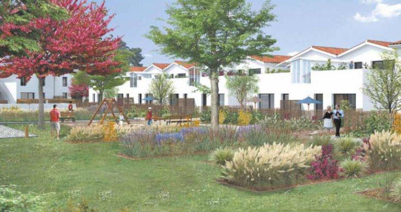 Achat / Vente immobilier neuf Saint-Médard-en-Jalles coeur quartier Corbiac (33160) - Réf. 3070