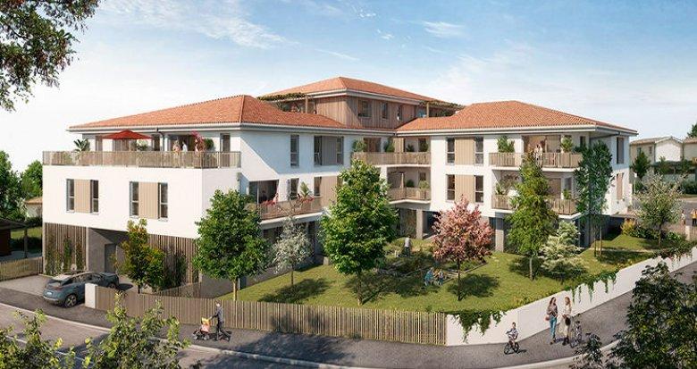 Achat / Vente immobilier neuf Saint-Vincent-de-Paul au coeur du village (33440) - Réf. 5693