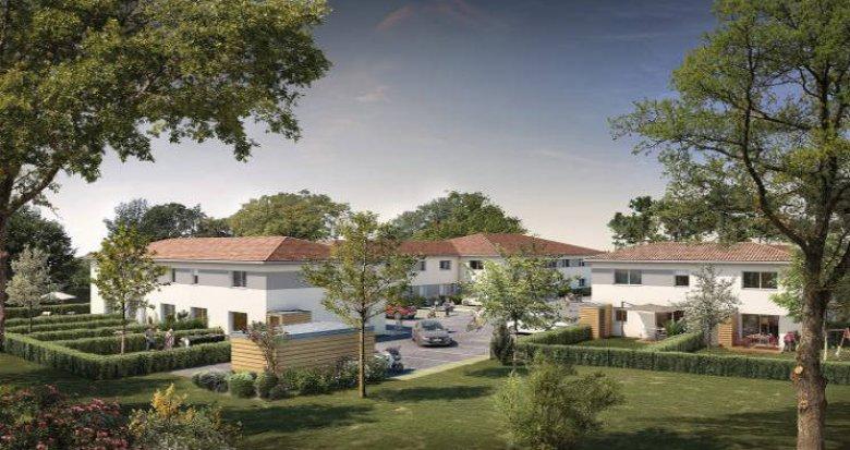 Achat / Vente immobilier neuf Sainte-Eulalie proche du Château Malbec (33560) - Réf. 5307