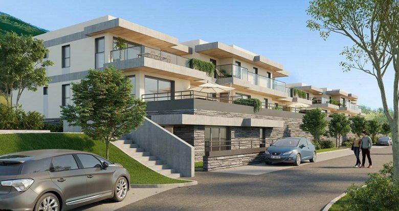 Achat / Vente immobilier neuf Seyssins proche centre-ville et nature (33650) - Réf. 5677
