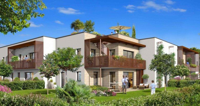 Achat / Vente immobilier neuf VILLENAVE-D'ORNON au sud de Bordeaux (33140) - Réf. 2082