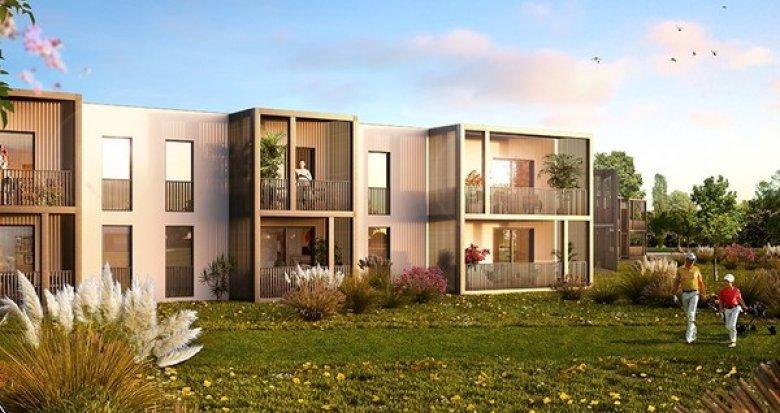 Achat / Vente immobilier neuf Villenave d'Ornon en bordure de Garonne (33140) - Réf. 1512