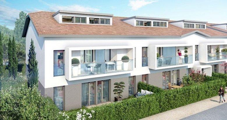 Achat / Vente immobilier neuf Villenave-d'Ornon quartier résidentiel proche Bordeaux (33140) - Réf. 2394