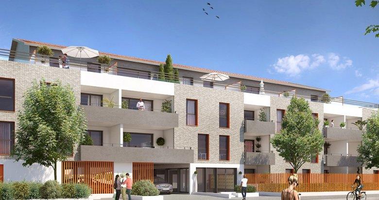 Achat / Vente immobilier neuf Villenave-d'Ornon quartier Saint Bris (33140) - Réf. 1896
