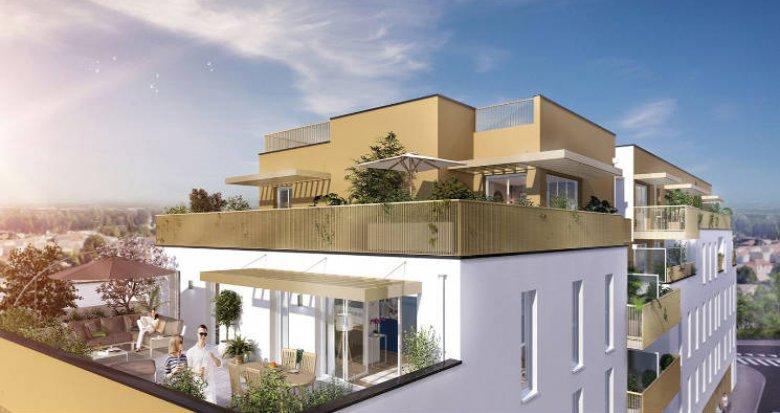 Achat / Vente immobilier neuf Villenave-d'Ornon à 15 min du centre bordelais (33140) - Réf. 5112