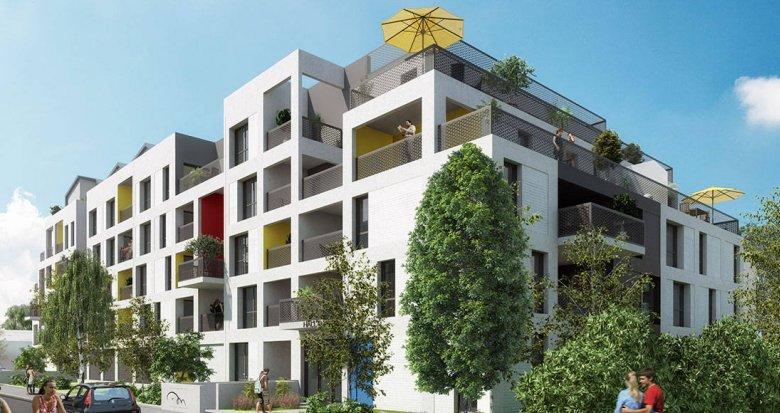 Achat / Vente immobilier neuf Villenave d'Ornon, à 800m Tram Pont de la Maye (33140) - Réf. 6139