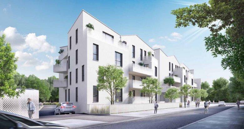 Achat / Vente immobilier neuf Villenave d'Ornon au cœur du quartier des Lacs (33140) - Réf. 5909