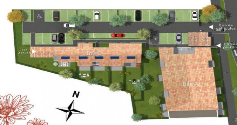 Achat / Vente immobilier neuf Villenave d'Ornon cœur quartier Bocage (33140) - Réf. 4880