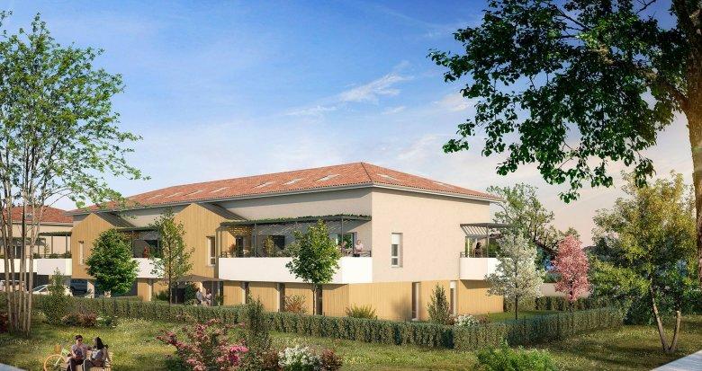 Achat / Vente immobilier neuf Villenave-d'Ornon proche du Golf (33140) - Réf. 6203