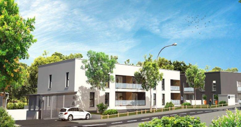 Achat / Vente immobilier neuf Villenave-d'Ornon proche lac de Versin (33140) - Réf. 5099