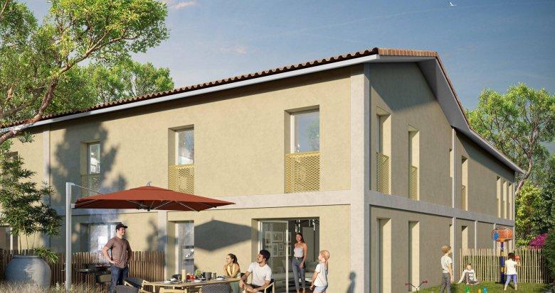 Achat / Vente immobilier neuf Villenave d'Ornon proche Stade Trigant (33140) - Réf. 6114
