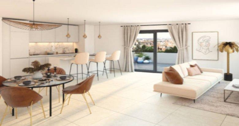 Achat / Vente immobilier neuf Villenave-d'Ornon proche stade Trigant (33140) - Réf. 5829