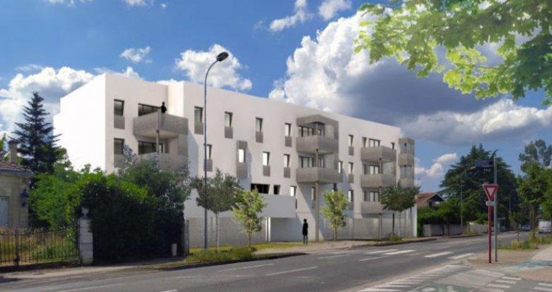 Achat / Vente immobilier neuf Villenave-d'Ornon proche tramway (33140) - Réf. 5048